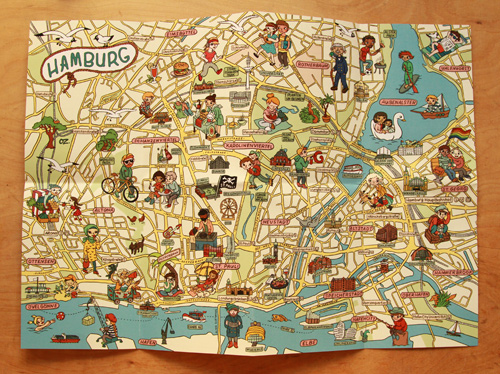 explore hamburg map